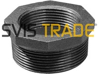 "241 3/4""x1/2"" Bushing black MF"