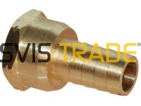 "670 1/2""x14 Adapter for hose F STANDARD"