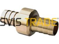 Mosazná spojka hadic šroubovací 19 mm 695 STANDARD
